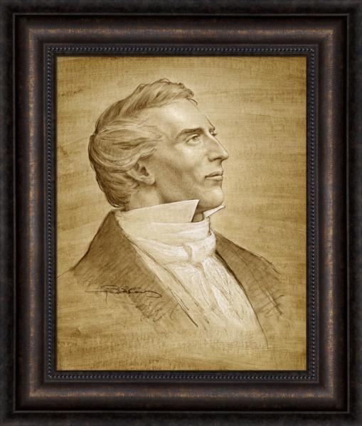 Joseph Smith portrait (sketch)